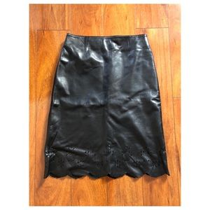 Siena Studio Leather Skirt Size 2